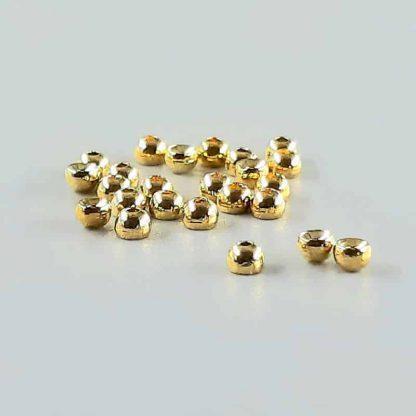 Tungsten Perlen gold