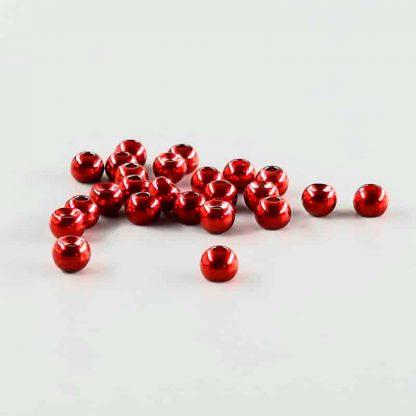 Tungsten Perlen rot metallic