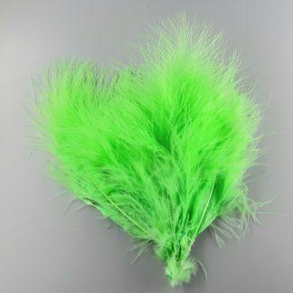 Marabou Federn Fluo Green