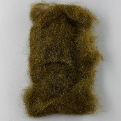Natural Fur Dubbing olive Hares Mask