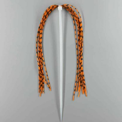Black Barred Rubber Legs M burnt orange