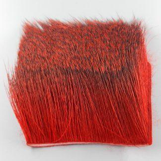 Deer Body Hair red