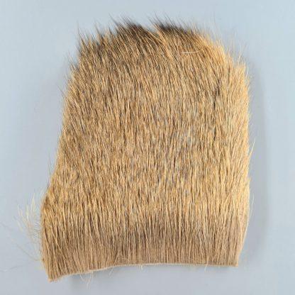 Elk Body Hair Bleached Ginger