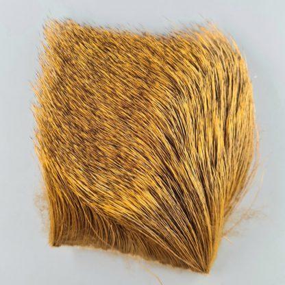 Elk Body Hair Golden Brown