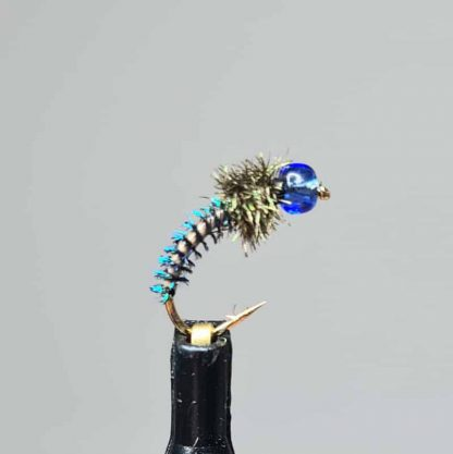 Nymphe Grandios dunkelblau