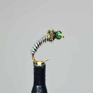 Nymphe Grandios dunkelgrün